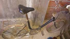 Bicicleta antigua plegable