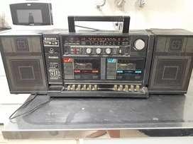 Radio grabador para cassette