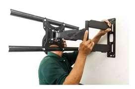 Venta e instalación bases movibles para TV