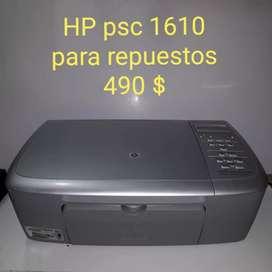 Impresora HP psc 1610