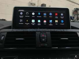 ESTEREO CENTRAL MULTIMEDIA STEREO  BMW SERIE 1 3 4 5 X3 X5 X6 E90 E80 F30 F20 F10 ANDROID BLUETOOTH DOBLE DIN