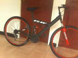 Vendo bicicleta Gw doble suspensión