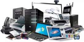 TV led equipos de audio laptop PC generador eléctrico perifoneo
