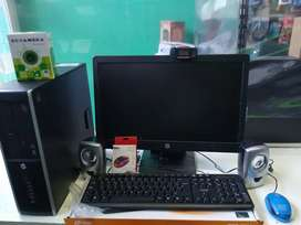 PC Completa HP Core i3 4 GB wifi webcam LCD 19