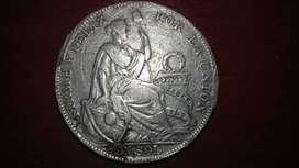 Moneda Peruana Antigua (1934)