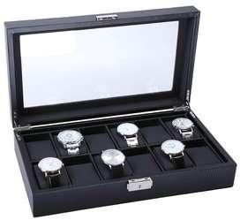 Caja para relojes lujosa