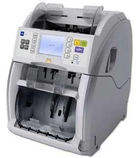 Maquina contadora de billetes