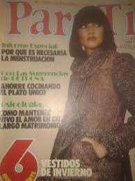 *Revista Para Ti, 5 Mayo 1975 Y 6 Moldes Natural De Vestidos