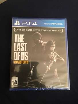 The last of us remastered Ps4 nuevo sellado