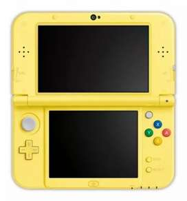 Consola Portatil Nintendo 3ds Xl Pikachu Yellow Edition
