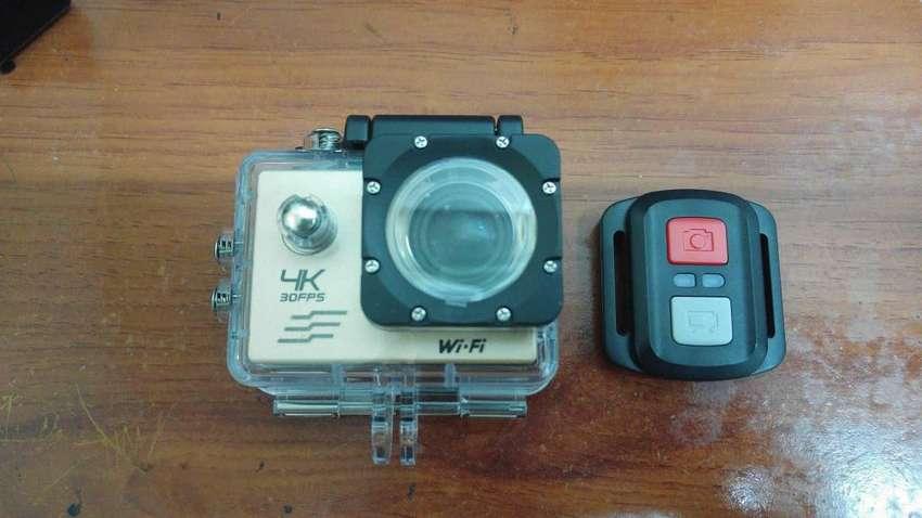 Cámara Acción Sports Cam 2,7K con control y Zoom. camaras acuáticas en Colombia 0