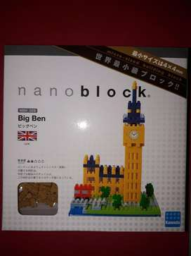 Nano Blocks O Micro Lego Marca Big Ben