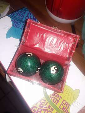 bolas chinas con sonido a campana x dentro