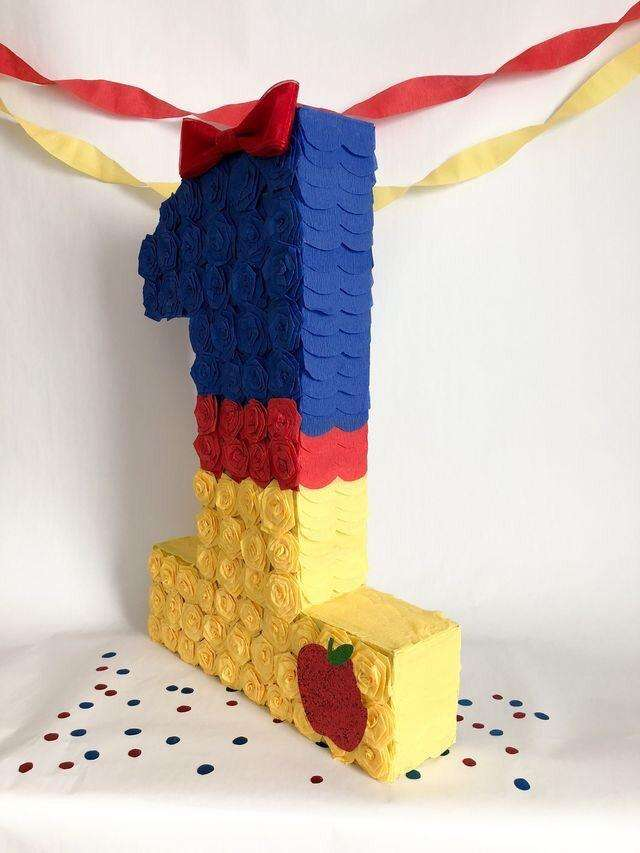 Piñata Blanca Nieeves a Pedido Y Otros 0