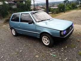 Fiat  mille 3 puertas 5 velocidades con alarma motor reparado hace 10 meses