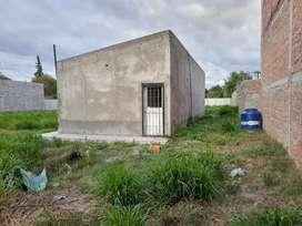 Casa en construcción en terreno de 17x42