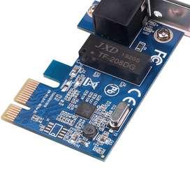 Tarjeta de red PCI Express PCI-E 1000Mbps Gigabit Ethernet 10/100/1000M RJ-45 adaptador LAN controlador de red