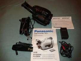 """Vendo filmadora visor color """"panasonic"""" pviq 604, digital."""