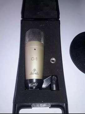 Micrófono condensador Behringer C1