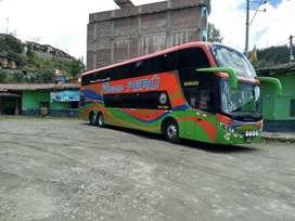 Se venden buses de doble piso carrocería Comil año 2014 Mercedez Benz