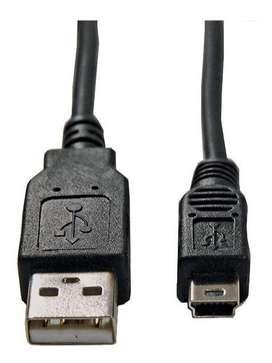 Cable Camara Star Tec Usb 0,75Mts (2,5Ft) Retractil Bolsa Negro
