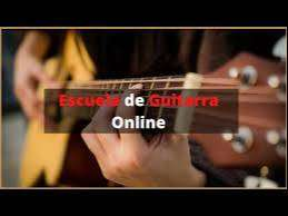 clases de guitarra  on line /presencial