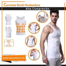 Camiseta Reductora Faja Moldeadora De Alta Compresión Gruponatic Surquillo Whatsapp 941439370
