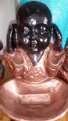 Combo de tres estatua buditas.de tres.