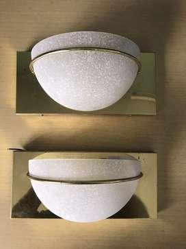 Lampras de Pared Metalicas Vidrio