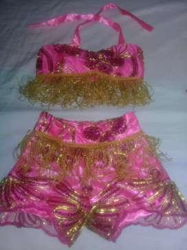 Disfraz de carnaval de niña talla 2