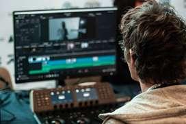 Editor de videos profesional desde 50 mil
