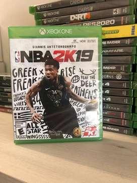 NBA2K19 NUEVO EN FISICO SELLADO