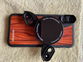 Kit de lentes para iPhone X Ztylus Revolver M Series