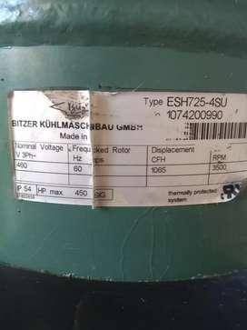 Ganga compresor frigorífico BITZER KUHLMASCHINENBAO