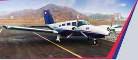 El Piper Chieftain es un avión bimotor mediano con capacidad para 6 pasajeros