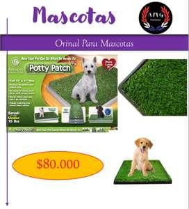 Orinal Para Mascotas Potty Patch