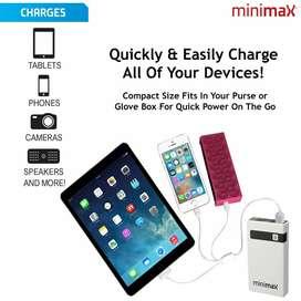 Minimax- Paquete De Energía Portátil, Arranque Su Auto Facil