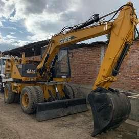 Excavadora de Llantas Case 688P