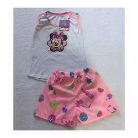 Pijamas para Niñas,tallas 2,4,6,8,10,12.