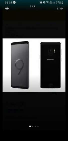 Samsung S9 de 64 Gb con extensión de memoria. Liberado