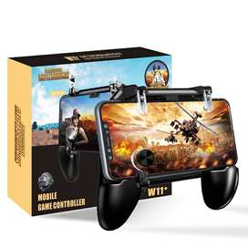 Mando Gatillo Fuego + Gamepad Grip L1 + R1 Pubg Fornite / Call of Duty