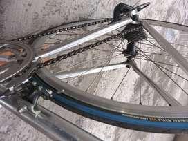Bicicleta rutera marca trek