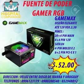Fuente de Poder Gamer 450w