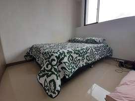 Se vende cama doble de 1,40 m