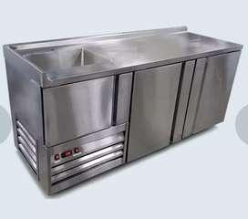 Barras refrigeradas
