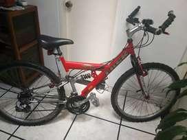 Bicicleta TREK  repuestos shimano