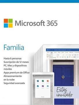 Microsoft Office 365 Familia