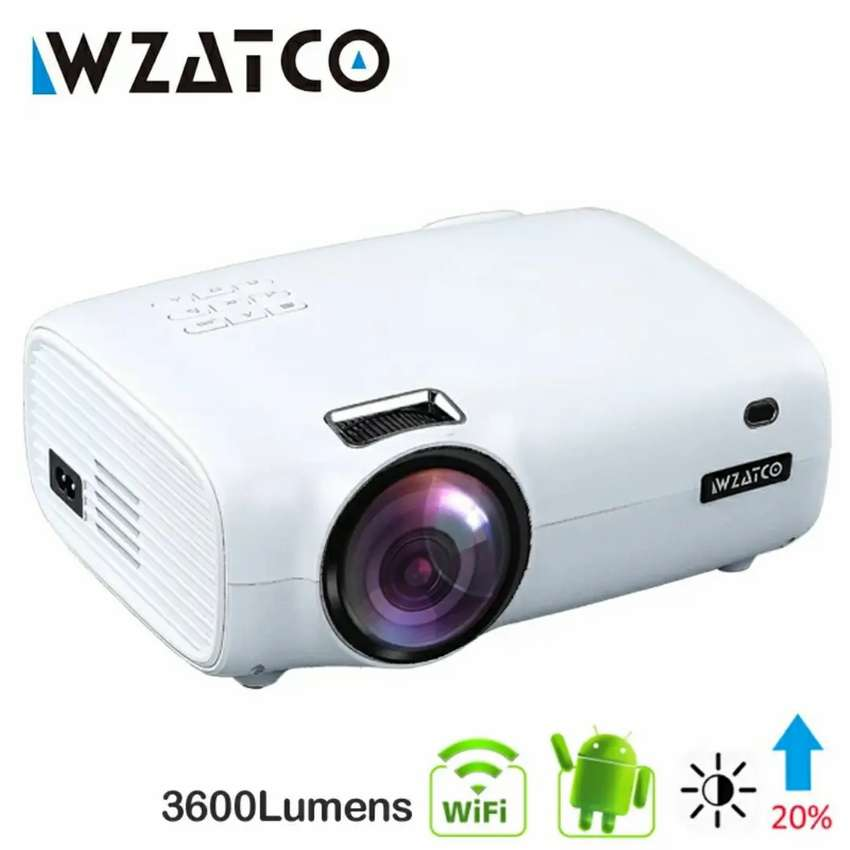 Miniproyector video beam led android wifi