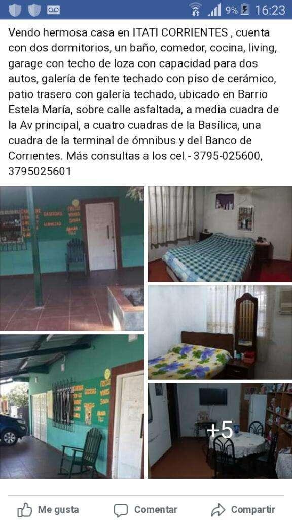 Vendo Casa en Itati Corrirntes 0