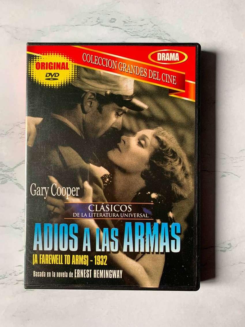 DVD película Lo que el viento se llevó y Adiós a las armas